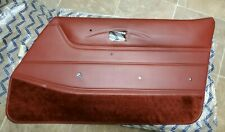 NEW NOS Genuine 1978 1979 1980 1981 DATSUN 280ZX  DOOR PANEL Red RH Side #2
