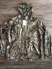 Carhartt Stormy Woods Mossy Oak Camo Jacket Hooded Camouflage Rare Men's Sz M