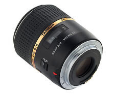 Objective Tamron Af Diii 60mm 60 F/2 Macro 1:1 x Canon New Warranty 5 Years