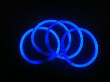 200pz. Braccialetti Luminosi StarLight fluorescenti Monocolore BLU
