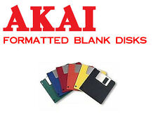 30 Blank Akai S950 Formatted Floppy Disks + 30 Labels -   NEW!   S950 FORMAT