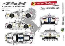 [FFSMC Productions] 1/32 Ferrari F458 Challenge Darren Crystal 2013 #47