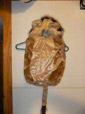 Nice Used Costume Lion vest with attached hat & tail childrens