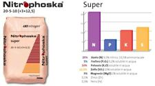 NITROPHOSKA SUPER KG.25 CONCIME 20-5-10 CONCIME PER LIMONI PIANTE AGRUMI PRATO