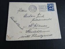 Nederland 218 op brief Rotterdam - St Blasien 1928 (aankomststempel, vlekjes)