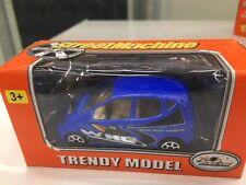 Pro MOTOR Street Machine Diecast Juguete Small Azul Modelo Coche Regalo Presente