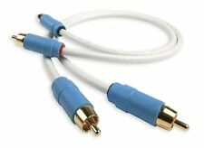 Chord C-Line Analogue Interconnect RCA to RCA 0.5m (Pair)