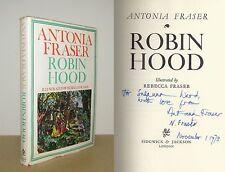 Antonia Fraser - Robin Hood - Signed - Re-issued 1st/1st