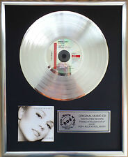 "Mariah Carey - Music Box CD/Cover gerahmt + 12"" Deko goldene Vinyl Schallplatte"
