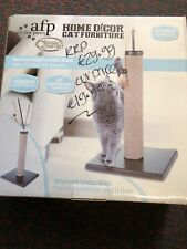 All For Paws Cat Scratching Post With Wand Jute Post Removable Feather Wand