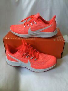 Wmns Nike Air Zoom Pegasus 36 Running Shoes SZ9-Laser Crimson White -AQ2210 601