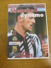 12/08/2017 Shepshed Dynamo v Shawbury United  . Thank you for viewing this item