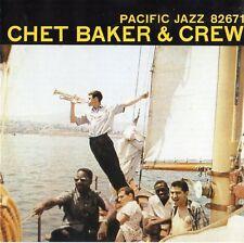 """CHET BAKER """"CHET BAKER & CREW"""" RARE CD / PACIFIC JAZZ"""