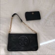 Tory Burch Chain Clutch And Wallet