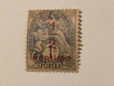 "1 Sello 1/2 Centavos Nueva Francia N º 157"" Tipo Gris-Negro 1/2 C S 1C - Stamp"