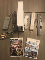 Nintendo Wii Sports Resorts Super Smash Bros Brawl Console System Bundle
