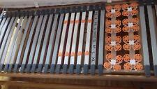 N. 2 RETI SINGOLE EVO MOTION IMPERIAL LIFE  DOGHE FAGGIO MOTORIZZATE CM 79 x 188