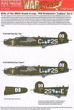 Kits-mundo 1/48 D B-24H Liberator 834th Bs, 486th BG Phil Brinkman's 48020