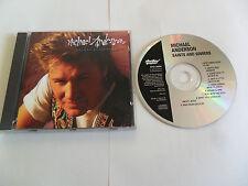 MICHAEL ANDERSON - Saints & Sinners (CD 1993) ROCK /UK Pressing