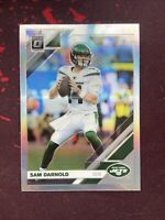 2019 Donruss Optic HOLO SILVER PRIZM Refractor SAM DARNOLD Jets #72