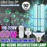 60W UV Germicidal Corn Lamp LED UVC Bulb Home Ozone Disinfection Light Corn Bulb