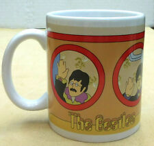 BEATLES YELLOW SUBMARINE PORTHOLE COFFEE MUG, ITEM #64067