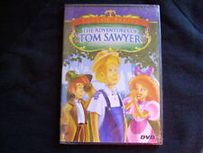 NEW SEALED 2006 THE ADVENTURES OF TOM SAWYER CARTOON DVD APPROX 45 MIN.
