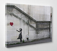 X Large Banksy Balloon Girl There Is Always Hope Graffiti Canvas Print Wall Art