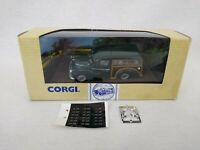 Corgi Classic Morris Minor Traveller 96878 Die-cast Model with Un-used Stickers