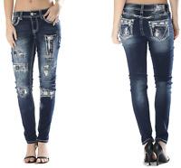 GRACE IN LA Mid Rise Easy Skinny Jeans Soft Denim 26 27 28 29 30 31 32 33 34