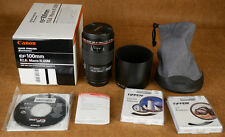 Canon EF 100mm f/2.8 L USM IS Lens macro lens excellent condition NR + filters