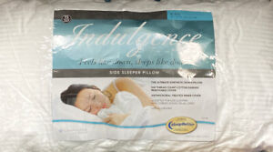Indulgence® by Isotonic® Synthetic Down Alternative King Side Sleeper Pillow
