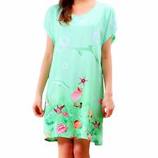 94a584d3978 New Women Pajamas Set Sleepwear Nightgown Lounge Sleeve Cotton Top Long  Lingerie