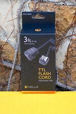 Câble Flash Vello OCS-SMI3 - Sony MIS – 1m  - TTL - Off-Camera TTL Cord