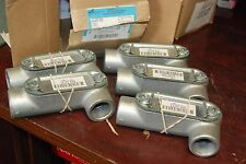 """Cooper, Crouse-Hinds, Ll37 Cg, 1"""", Box of 5, New in box"""