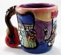 "Shot Glass Branson Missouri Ceramic Painted 2 1/2"" Barware Souvenir Collection"