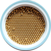 3/32'' ( 2.381mm ) 1000pcs Solid Brass Bearing Balls (H62)