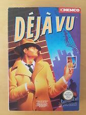 Deja Vu (PAL-B) CIB in perfect condition NES - Nintendo