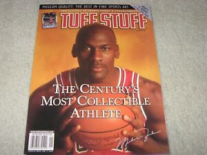 Tuff Stuff MICHAEL JORDAN Chicago Bulls THE CENTURY'S MOST COLLECTIBLE ATHLETE