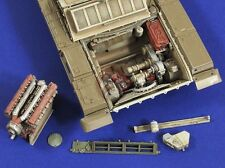 Verlinden 1/35 Russian T-72 Tank Engine Compartment (for Tamiya) [Resin] 2719
