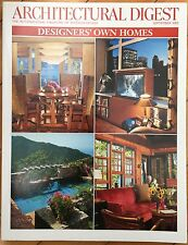 Architectural Digest Magazine - September 2002 Designer's Own Homes