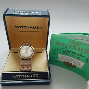Vintage Wittnauer-Longines Automatic Wind-up 10k Gold Filled Men's Watch WORKS!