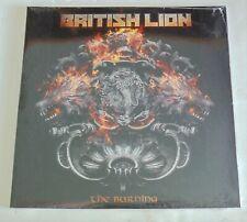 British Lion The Burning 2x SEALED LP Vinyl Record Steve Harris E1m2000011 2020