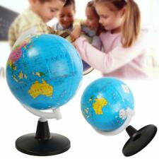 Childrens Globe Mini Atlas World Map 8.5cm with Swivel Stand Educational Toy