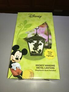 Disney Solar LED Light Mickey Mouse Woods International New in Box