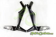 Carbon Frame covers Rahmenschoner Triumph Daytona 675 2006-2012