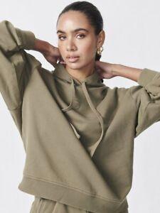 Ena Pelly Womens Gigi Hoodie Oversized Fit Pullover Sweatshirt Jumper Top Size 8