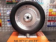 """Harley Davidson cerchio anteriore pieno da 16"""" x 3"""" lenticolare Multifit Fat Boy"""
