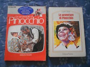 due libri di PINOCCHIO !!  s