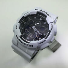 Casio G-Shock Light Gray Digital Analog Watch GA100L-7A